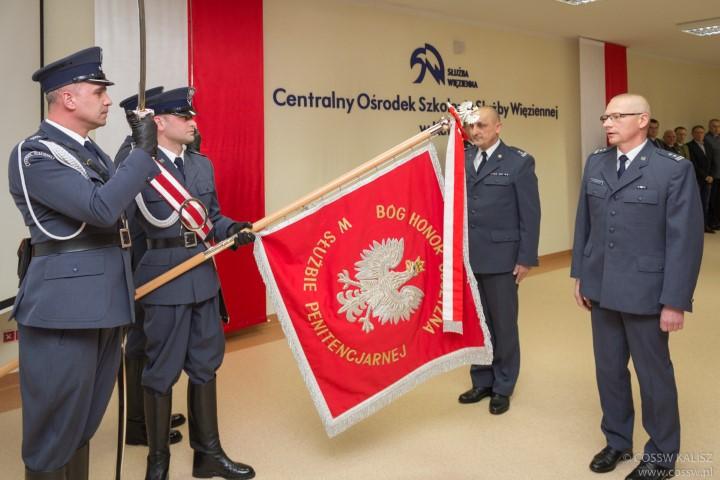 Ppłk Ryszard Czapracki Komendantem Centralnego Ośrodka Szkolenia Służby Więziennej w Kaliszu