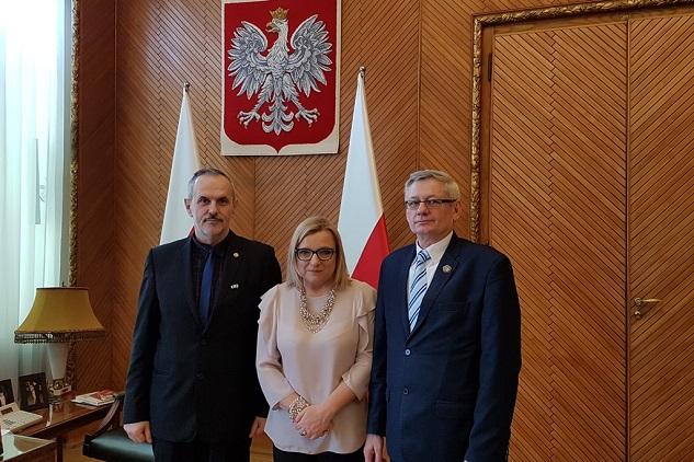 Spotkanie robocze w Kancelarii Prezesa Rady Ministrów