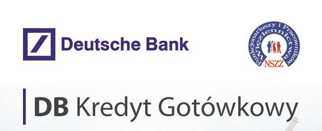 Oferta kredytowa dla funkcjonariuszy i pracowników oraz emerytów Służby Więziennej  –  Deutsche Bank