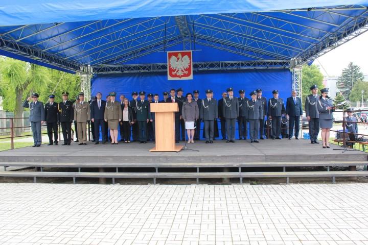 Uroczyste zakończenie szkolenia zawodowego na pierwszy stopień oficerski Służby Więziennej rocznik 2018