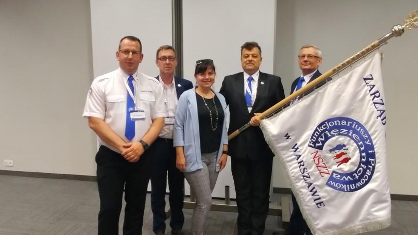 V Kongres Forum Związków Zawodowych udział Przedstawicieli NSZZ FiPW