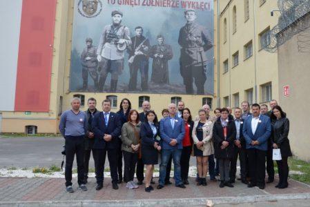 Delegacja Litewskich Związków Zawodowych Służby Więziennej w Polsce