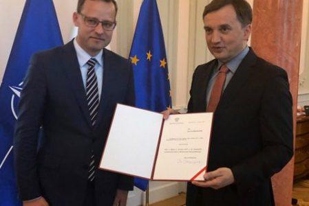 Marcin Romanowski wiceministrem sprawiedliwości