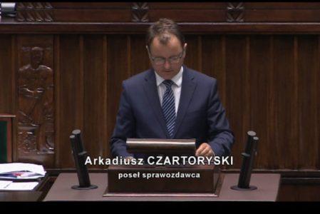 Zapraszamy do zapoznania się z przebiegiem posiedzenia Sejmu Rzeczypospolitej Polskiej w dniu 17 lipca 2019 r w kwestii: