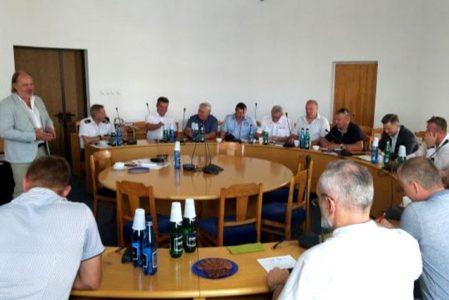 Posiedzenie Rady Federacji Związków Zawodowych Służb Mundurowych
