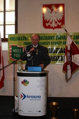 25 lat NSZZ FSG Nadodrzańskiego Oddziału Straży Granicznej