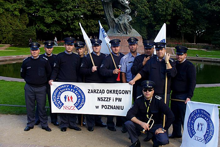 Podsumowanie 4 letniego okresu członków Zarządu Okręgowego NSZZF i PW w Poznaniu we władzach Krajowych NSZZF i PW