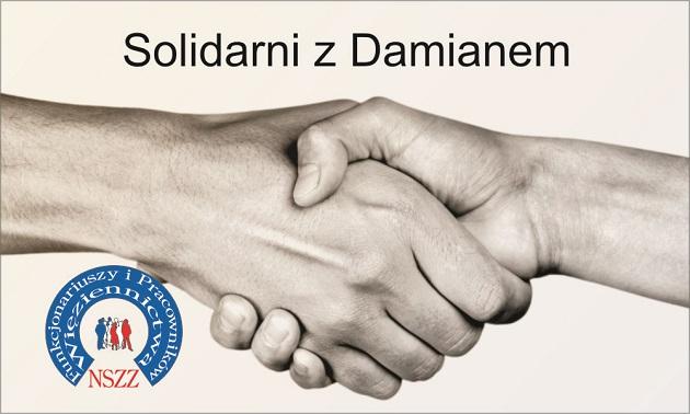 Solidarni z Damianem – Prośba o pomoc