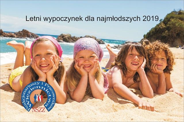 Oferta Letniego wypoczynku dla najmłodszych 2019