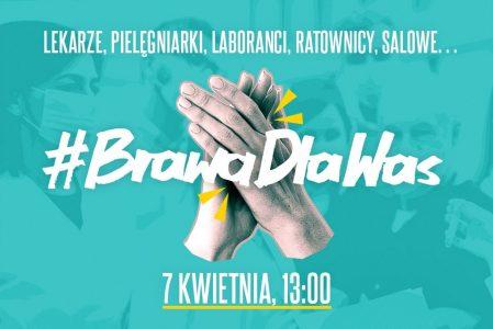 W ramach akcji #BrawoDlaWas ZT i Dyrektor ZK Gębarzewo wsparli pracowników służby zdrowia.