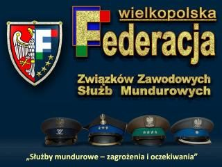 Stanowisko Wielkopolskiej i Lubuskiej Federacji Związków Zawodowych Służb Mundurowych w sprawie odrzucenia 73 poprawki senatu.