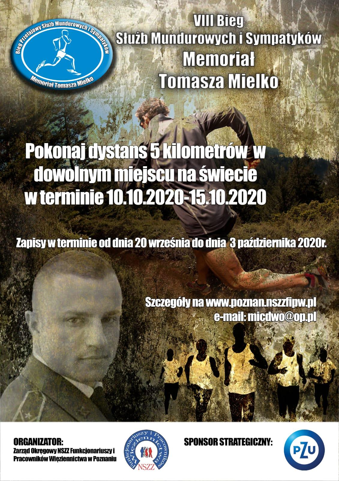 Dużymi krokami zbliża się kolejna edycja Biegu Memoriałowego Tomasza Mielko!! Poniżej link do zapisów i regulaminu zawodów.